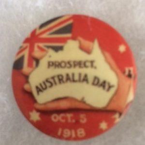 Australia Day 1918 pinback