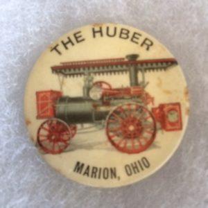 Huber Threshing Equipment Advertising pinback old