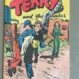 Terry & the Pirates Comic 1938 Popped Wheat Giveaway
