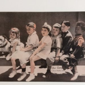 Our Gang photo circa 1930