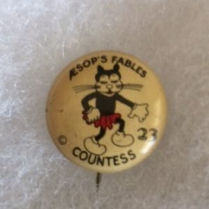 1930s Aesops Fables Countess Pinbank