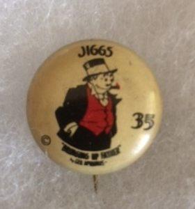 1930s Jiggs Bringing Up Father Pinback