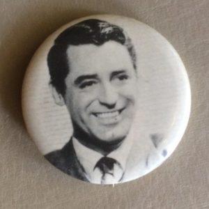 Cary Grant Pinback 1970s