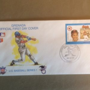 Brooks Robinson First Day Cover 1988