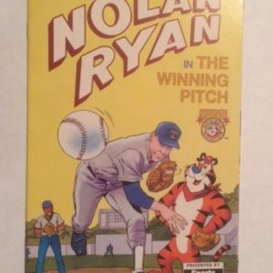 Nolan Ryan Kelloggs Frosted Flakes Give away 1992