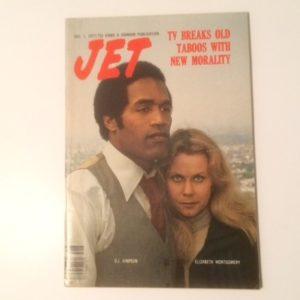 1977 Jet magazine with OJ Simpson