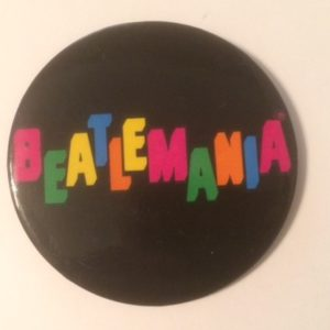 Beatlemania Large Pinback