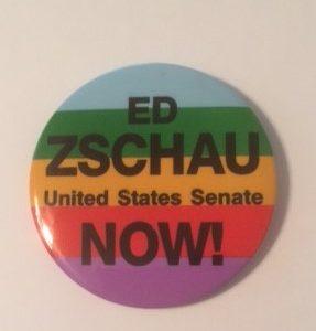 Ed Zschau US Senate Pinback