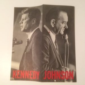 Kennedy Johnson Photo Brochure 1960